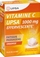 Vitamine C Upsa Effervescente 1000 Mg, Comprimé Effervescent à LIEUSAINT